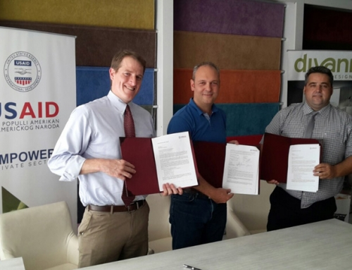 TEFIK CANGA is proud to present first partnership with Empower – USAID Private Sector
